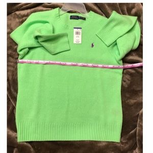 Polo by Ralph Lauren Sweaters - Polo Sweater [Lime Green]